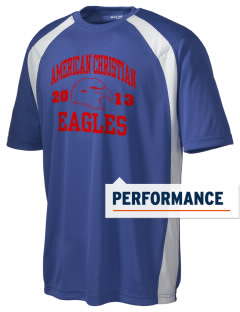 American Christian School Eagles Men's Dry Zone Colorblock T-Shirt
