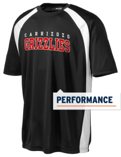 Carrizozo High School Grizzlies Men's Dry Zone Colorblock T-Shirt