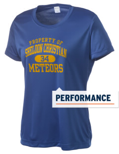 Sheldon Christian School Meteors Women's Competitor Performance T-Shirt