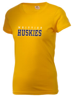 Whittier Elementary School Huskies  Russell Women's Campus T-Shirt