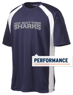 Puget Sound Adventist Academy Sharks Men's Dry Zone Colorblock T-Shirt