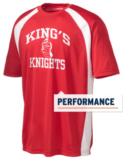 King's Elementary School Knights Men's Dry Zone Colorblock T-Shirt