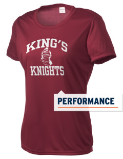 King's Elementary School Knights Women's Competitor Performance T-Shirt