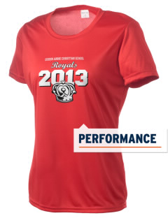 Queen Anne Christian School Royals Women's Competitor Performance T-Shirt