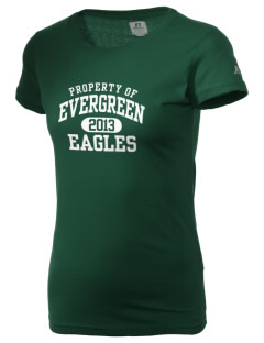 Evergreen Academy Eagles  Russell Women's Campus T-Shirt