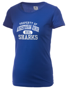 Augustus H Shaw Junior School Sharks  Russell Women's Campus T-Shirt