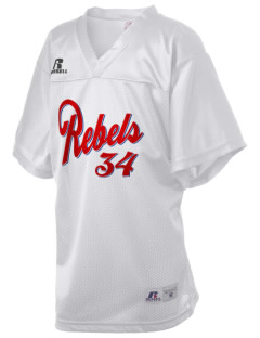 Claiborne Academy Rebels Russell Kid's Replica Football Jersey