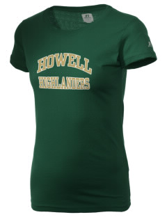 Howell High School Highlanders  Russell Women's Campus T-Shirt