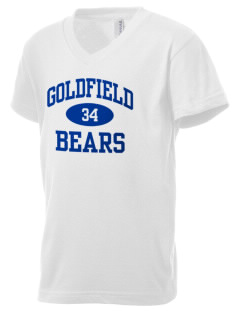 Goldfield School Bears Kid's V-Neck Jersey T-Shirt