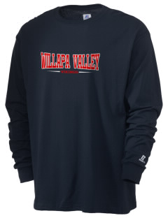 Willapa Valley High School Vikings  Russell Men's Long Sleeve T-Shirt