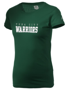 Tuba City High School Warriors  Russell Women's Campus T-Shirt