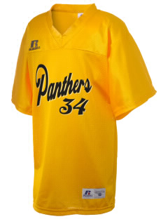 Lanett High School Panthers Russell Kid's Replica Football Jersey