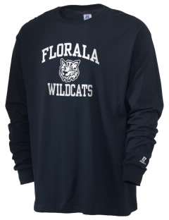 Florala High School Wildcats  Russell Men's Long Sleeve T-Shirt