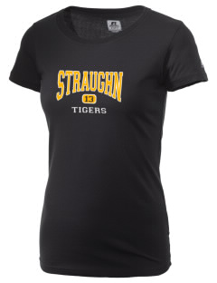 Straughn School Tigers  Russell Women's Campus T-Shirt