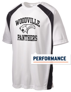 Woodville School Panthers Men's Dry Zone Colorblock T-Shirt