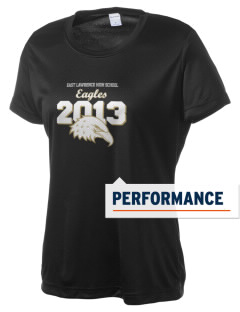 East Lawrence High School Eagles Women's Competitor Performance T-Shirt