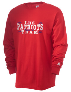 Linden High School Patriots  Russell Men's Long Sleeve T-Shirt