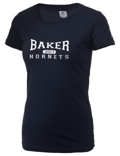 Baker High School Hornets  Russell Women's Campus T-Shirt