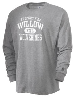 Willow Elementary School Wolverines  Russell Men's Long Sleeve T-Shirt