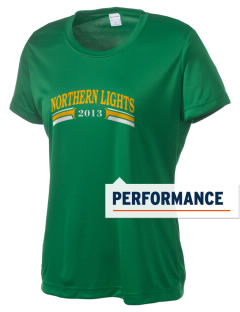 Deering School Northern Lights Women's Competitor Performance T-Shirt