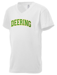Deering School Northern Lights Kid's V-Neck Jersey T-Shirt