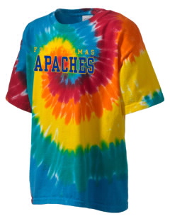 Fort Thomas Elementary School Apaches Kid's Tie-Dye T-Shirt