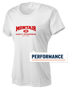 Montair Elementary School Roadrunners Women's Competitor Performance T-Shirt