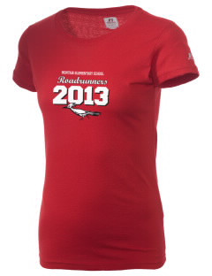 Montair Elementary School Roadrunners  Russell Women's Campus T-Shirt