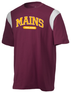 Mains Elementary School Trojans Holloway Men's Rush T-Shirt