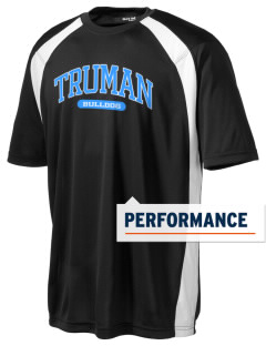 Truman high school Bulldog Men's Dry Zone Colorblock T-Shirt