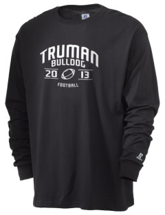 Truman High School Bulldog  Russell Men's Long Sleeve T-Shirt