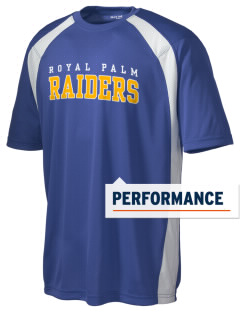 Royal Palm Junior High School Raiders Men's Dry Zone Colorblock T-Shirt