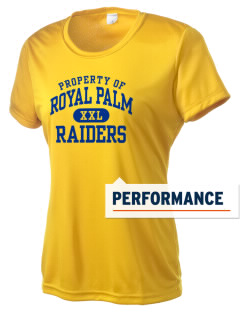 Royal Palm Junior High School Raiders Women's Competitor Performance T-Shirt