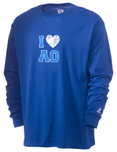Alpha Omega Academy We don't have one.  We have a logo  Russell Men's Long Sleeve T-Shirt