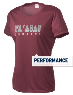 fa'asao high cougars Women's Competitor Performance T-Shirt