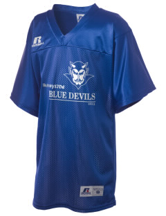 Sunnyside High School Blue Devils Russell Kid's Replica Football Jersey