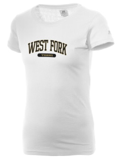 West Fork High School Tigers  Russell Women's Campus T-Shirt