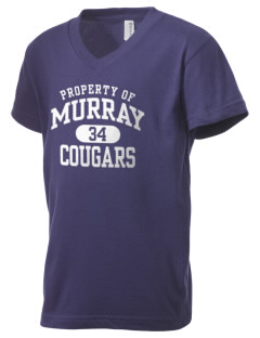 Murray Elementary School Cougars Kid's V-Neck Jersey T-Shirt
