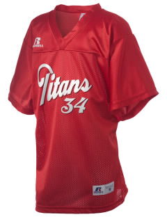 Skyline High School Titans Russell Kid's Replica Football Jersey