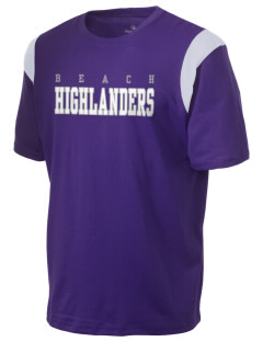 Beach Elementary School Highlanders Holloway Men's Rush T-Shirt