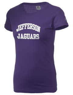 Jefferson Elementary School Jaguars  Russell Women's Campus T-Shirt