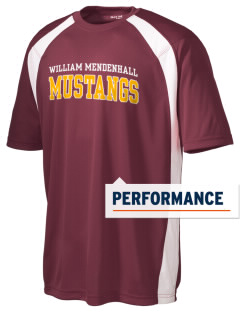 William Mendenhall Middle School Mustangs Men's Dry Zone Colorblock T-Shirt