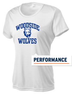 Woodside Elementary School Wolves Women's Competitor Performance T-Shirt
