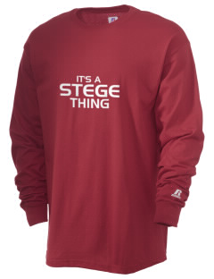 Stege Elementary School Stars  Russell Men's Long Sleeve T-Shirt