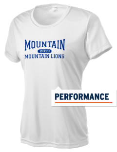Mountain Elementary School Mountain Lions Women's Competitor Performance T-Shirt