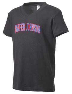 Rafer Johnson Junior High School Olympians Kid's V-Neck Jersey T-Shirt
