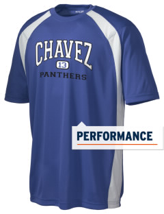 Chavez Elementary School Panthers Men's Dry Zone Colorblock T-Shirt