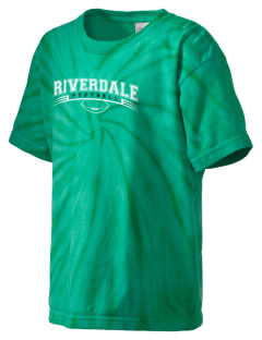 Riverdale High School Cowboys Kid's Tie-Dye T-Shirt