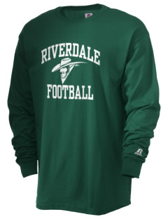 Riverdale High School Cowboys  Russell Men's Long Sleeve T-Shirt