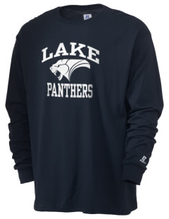 Lake Elementary School Panthers  Russell Men's Long Sleeve T-Shirt